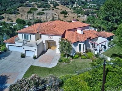La Habra Heights Single Family Home For Sale: 2088 Virazon Drive