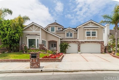 Huntington Beach Single Family Home For Sale: 16111 Whitecap Lane