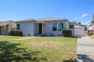 Fullerton Single Family Home For Sale: 737 West Amerige Ave