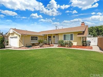 La Habra Single Family Home For Sale: 300 Marin Street