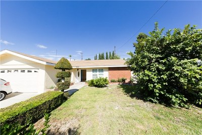 West Covina Single Family Home For Sale: 3640 S Sentous Avenue