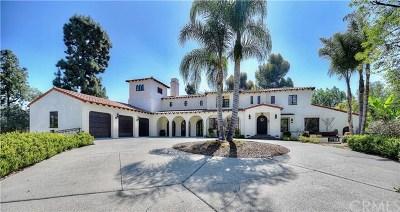 La Habra Heights Single Family Home For Sale: 1912 Tumin Road