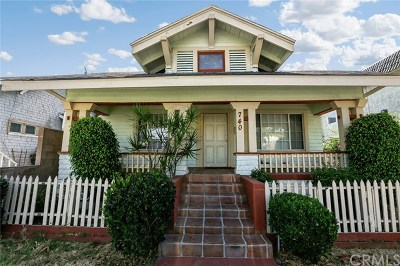 Long Beach Single Family Home For Sale: 740 Magnolia Avenue