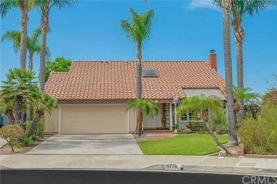Cypress Single Family Home For Sale: 5776 Stratmore Avenue