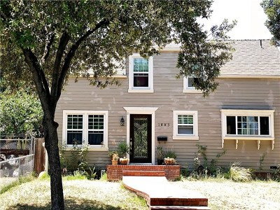 Pasadena Single Family Home For Sale: 1883 N Marengo Avenue