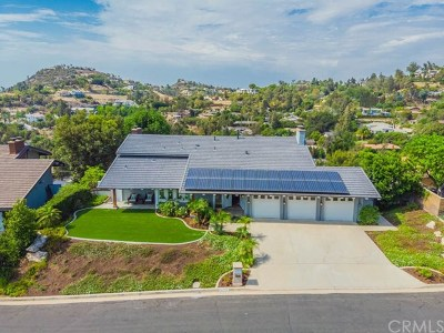 North Tustin Single Family Home For Sale: 10705 Equestrian Drive