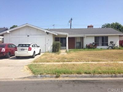 Orange County Single Family Home For Sale: 9601 Harriet Lane