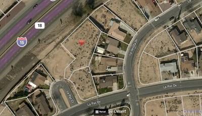 Victorville Residential Lots & Land For Sale: La Paz Ct