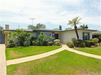 Long Beach Single Family Home For Sale: 5472 E Oleta Street