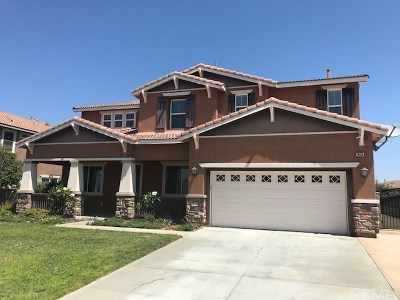 Riverside Single Family Home For Sale: 18450 Krameria Avenue