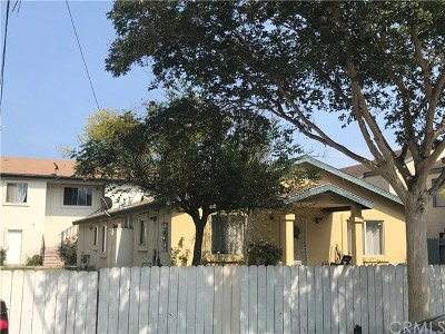 Santa Ana Multi Family Home For Sale: 1009 N Parton Street