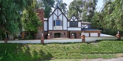 La Habra Heights Single Family Home For Sale: 1215 Encinas Drive