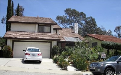 West Covina Single Family Home For Sale: 2004 Cumberland Drive