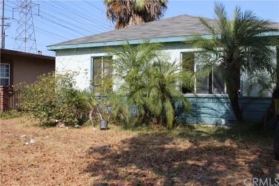 Long Beach Single Family Home For Sale: 6940 Butler Avenue