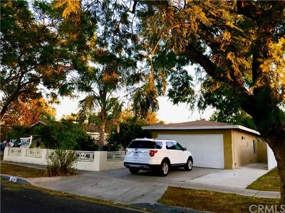 Santa Ana Single Family Home For Sale: 2214 Edna Drive