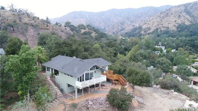 Glendora Single Family Home For Sale: 1019 N Easley Canyon Road