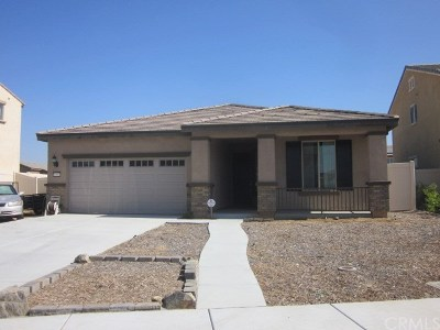 Perris Single Family Home For Sale: 1060 Madera Street