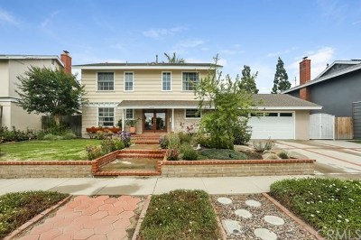 Fountain Valley Single Family Home For Sale: 18834 Santa Barbara Street