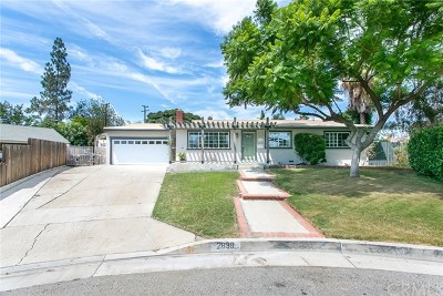 Fullerton Single Family Home For Sale: 2839 Spruce Place