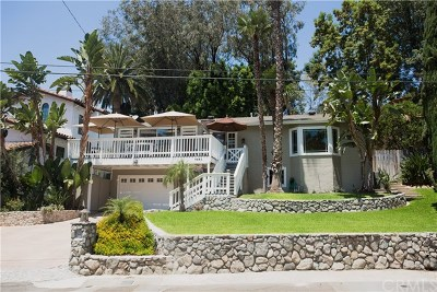 Fullerton Single Family Home Active Under Contract: 1093 W Arroyo Drive