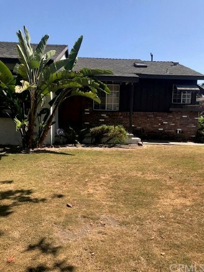 Garden Grove Single Family Home For Sale: 12182 Stanford Avenue