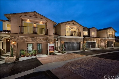 Chino Hills Condo/Townhouse For Sale: 4435 Lilac Circle