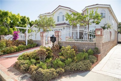 Long Beach Single Family Home For Sale: 4408 Pepperwood Ave