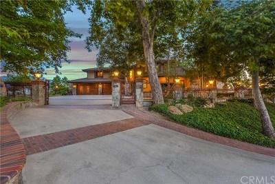 La Habra Heights Single Family Home For Sale: 2264 Virazon Drive
