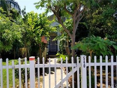 La Habra Single Family Home For Sale: 540 Highlander Avenue