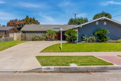Orange Single Family Home For Sale: 1315 E Greenview Drive