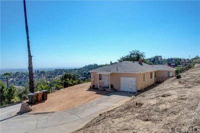 La Habra Heights Single Family Home For Sale: 1631 Coban Road