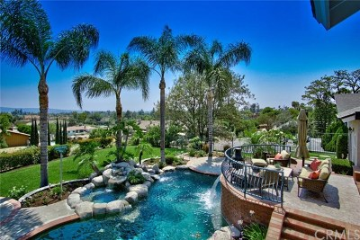 Yorba Linda CA Single Family Home For Sale: $1,847,500