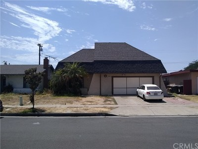 Anaheim Single Family Home Active Under Contract: 4932 E Budlong Street