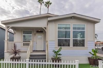 Long Beach Single Family Home For Sale: 3595 Santa Fe Avenue #SP #30