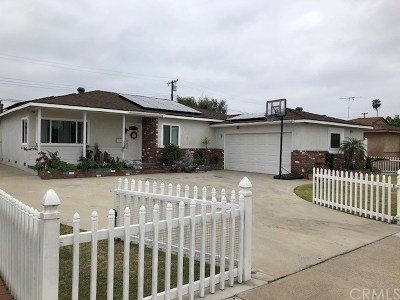 Westminster Single Family Home For Sale: 7622 Bestel Avenue