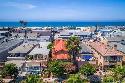 Single Family Home For Sale: 3609 W Balboa Boulevard