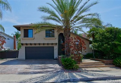 Mission Viejo Single Family Home For Sale: 24872 Via Florecer