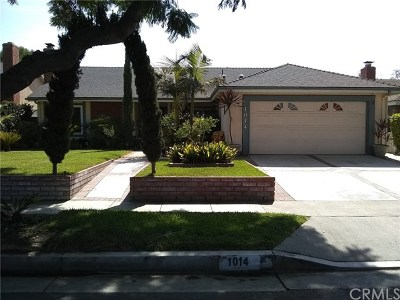 Santa Ana Single Family Home For Sale: 1014 W Orange Road