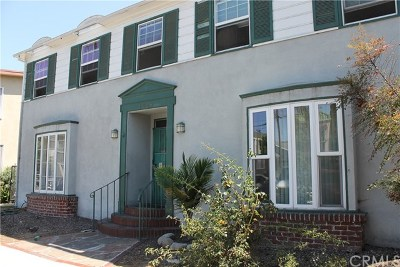 Long Beach Single Family Home For Sale: 1036 E 2nd Street #12