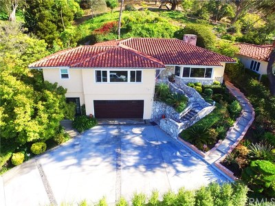 Los Angeles County Single Family Home For Sale: 2416 Via Ramon