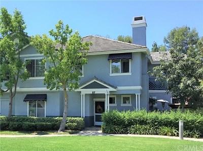 Aliso Viejo Condo/Townhouse For Sale: 87 Carlsbad Lane