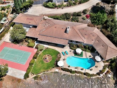 La Habra Heights Single Family Home For Sale: 1440 Vista Del Valle Way