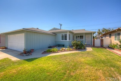Norwalk Single Family Home Active Under Contract: 12712 Muroc Street
