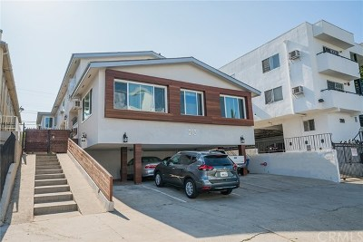 Los Angeles Multi Family Home For Sale: 213 S Alexandria Avenue