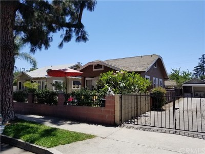 Santa Ana Single Family Home For Sale: 1118 W Pine Street
