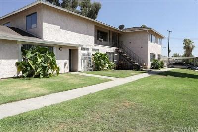 San Bernardino Multi Family Home Active Under Contract: 2105 E 19th Street