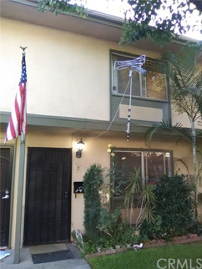 Buena Park Condo/Townhouse For Sale: 8806 Valley View Street #B