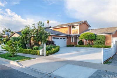 Fountain Valley Single Family Home For Sale: 16384 Sandalwood St.