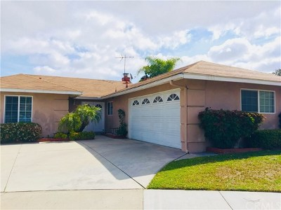 Anaheim Single Family Home For Sale: 1066 S Clifpark Circle