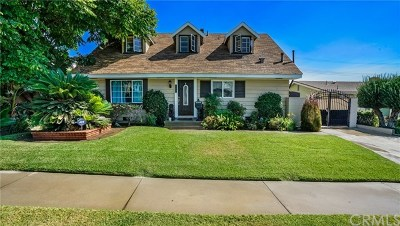 La Mirada Single Family Home For Sale: 15619 Fada Drive